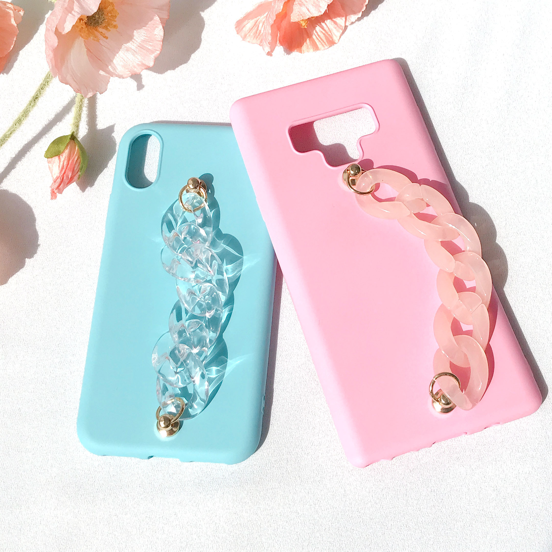 in the cloud chain (컬러젤리) phone case