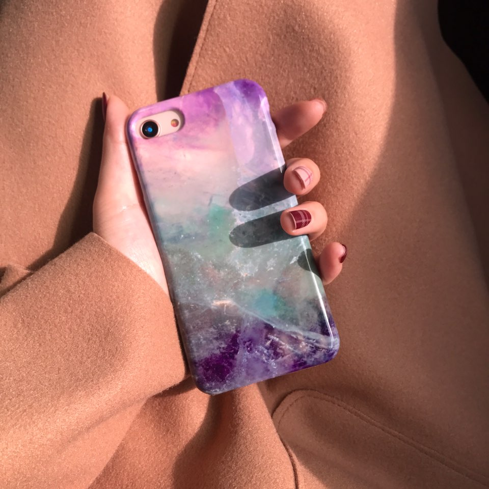 mix marble phone case