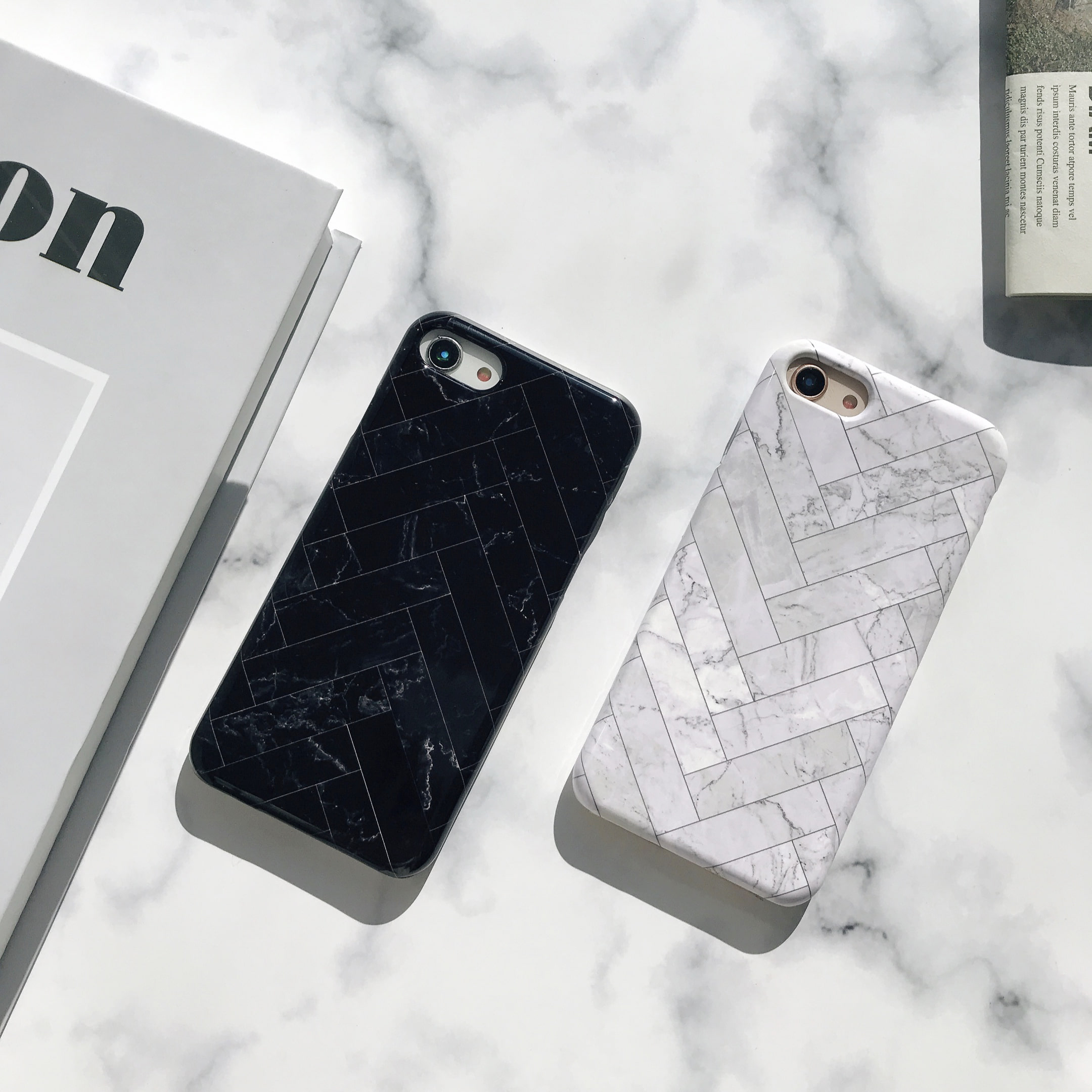 urban herringbone phone case