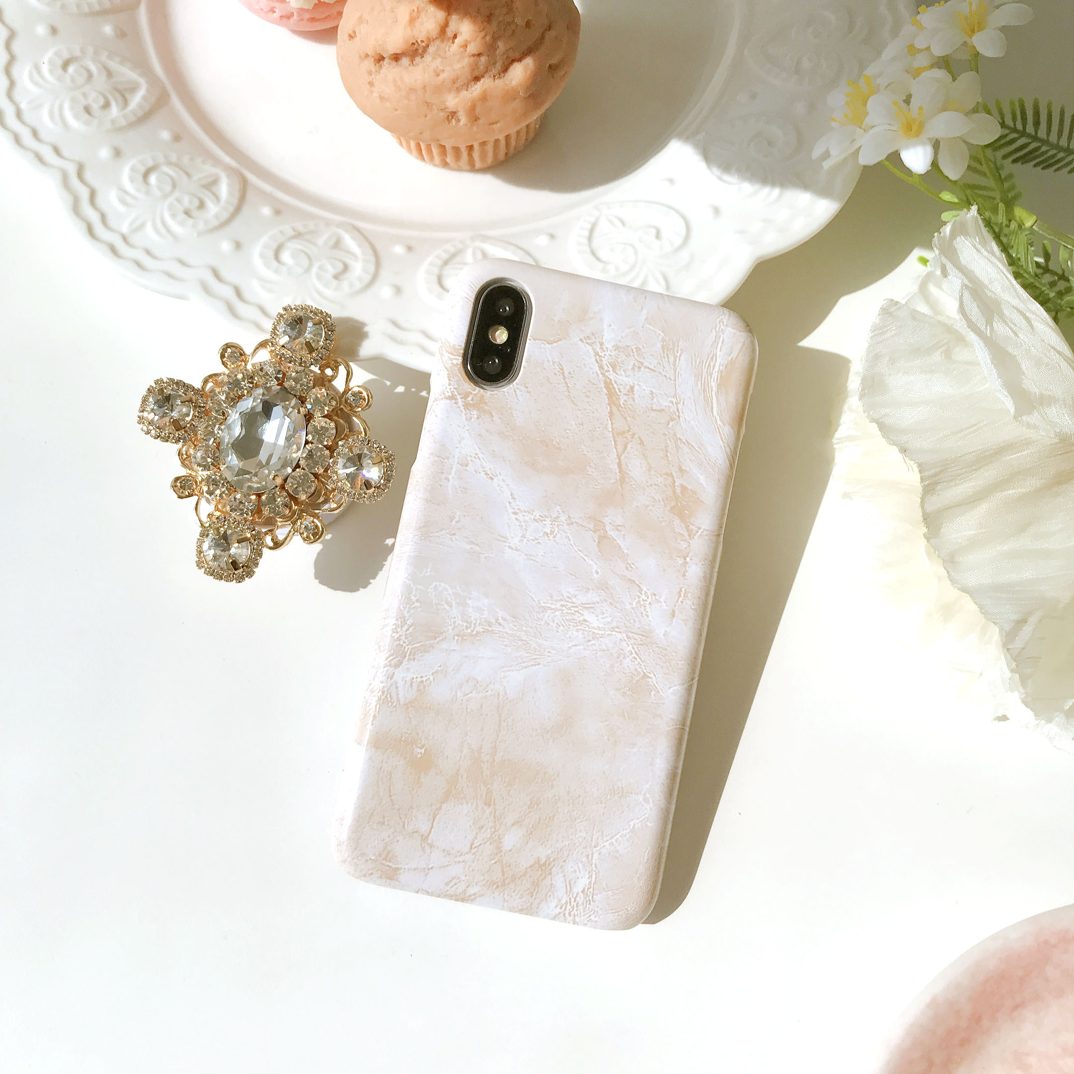 seraphic marble phone case