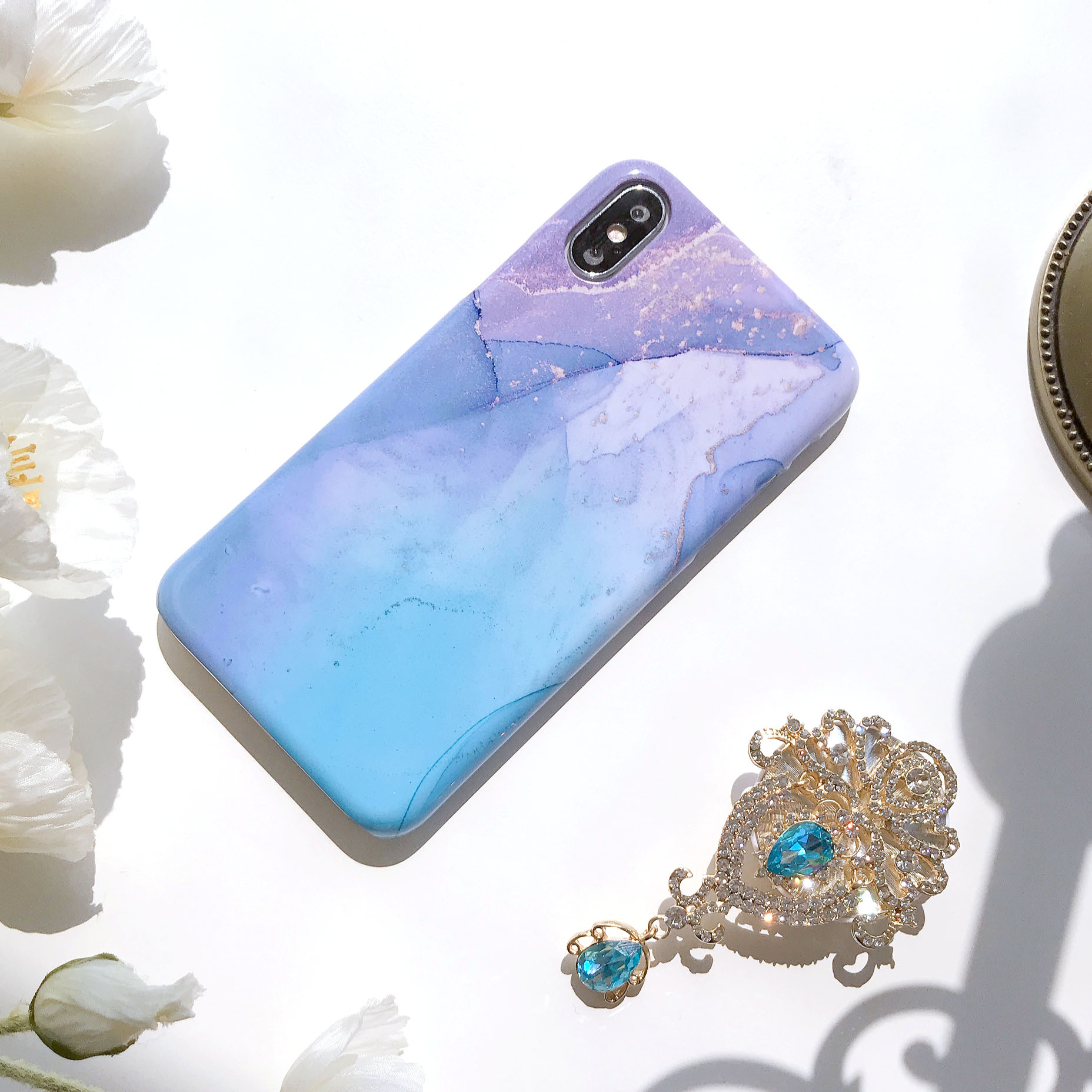 miracle marble phone case