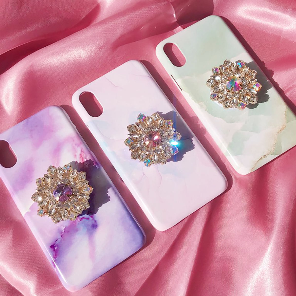 fantastic cloud marble phone case